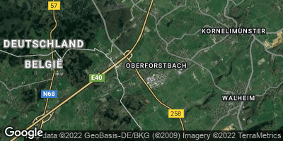 Google Map of Oberforstbach