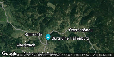 Google Map of Unterschönau