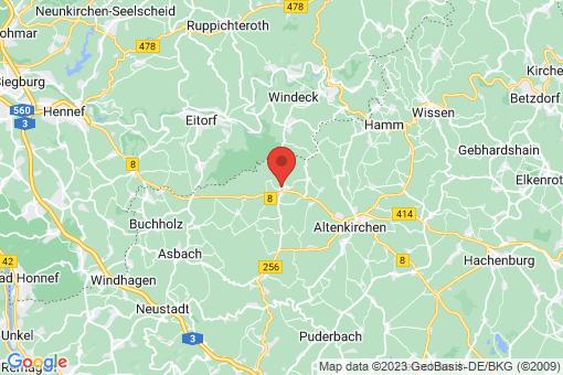 Karte Weyerbusch