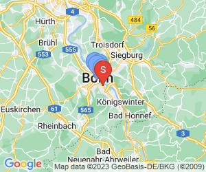 Karte für Stiftung Haus der Geschichte der Bundesrepublik Deutschland