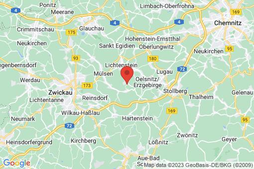 Karte Mülsen Ortmannsdorf, Marienau