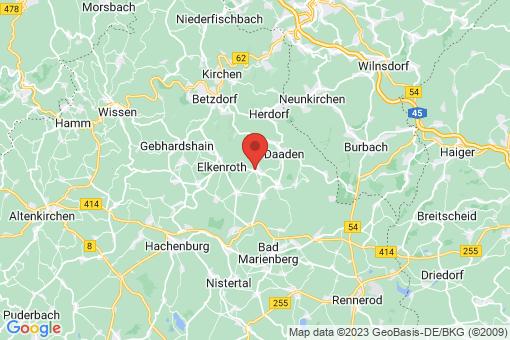 Karte Weitefeld