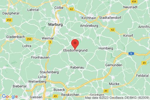 Karte Ebsdorfergrund