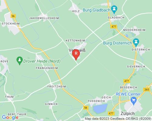 Google Karte von Rohrreinigung Vettweiß