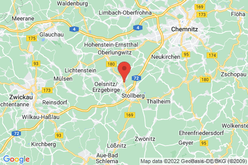 Karte Lugau/Erzgebirge