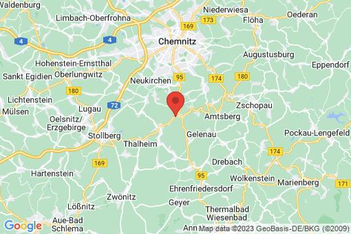 Karte Burkhardtsdorf