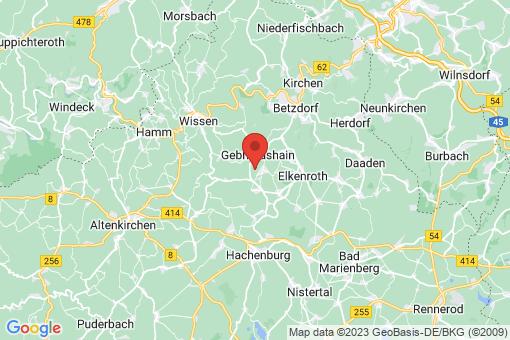 Karte Steinebach/Sieg