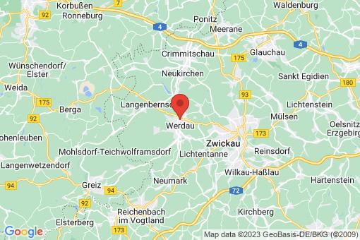 Karte Werdau