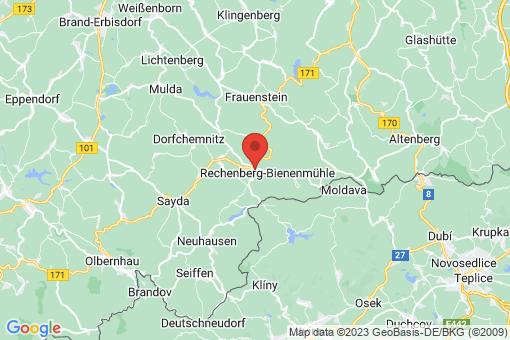 Karte Rechenberg-Bienenmühle