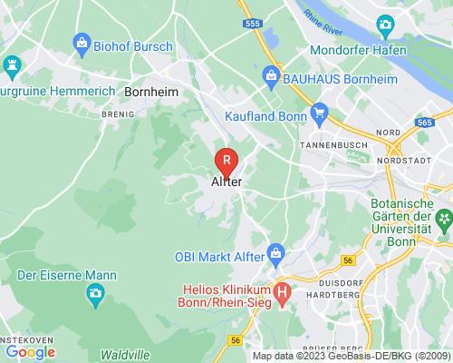 Google Karte von Rohrreinigung Alfter