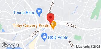 B&Q Warehouse Poole location