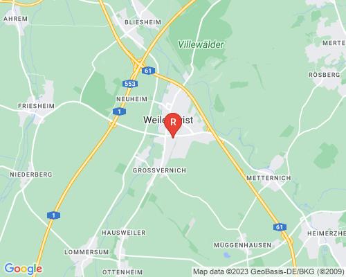 Google Karte von Rohrreinigung Weilerswist
