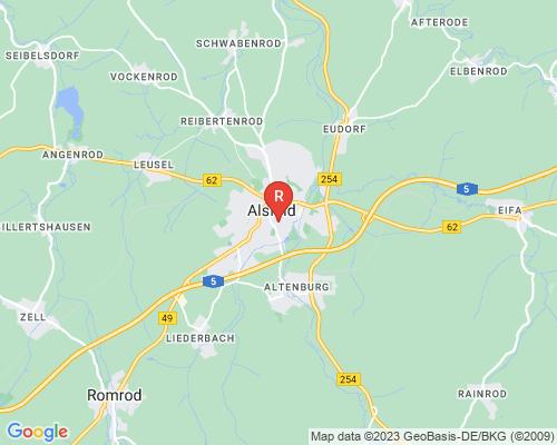 Google Karte von Rohrreinigung Alsfeld