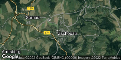 Google Map of Zschopau
