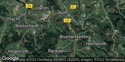 Google Map of Roth bei Hamm
