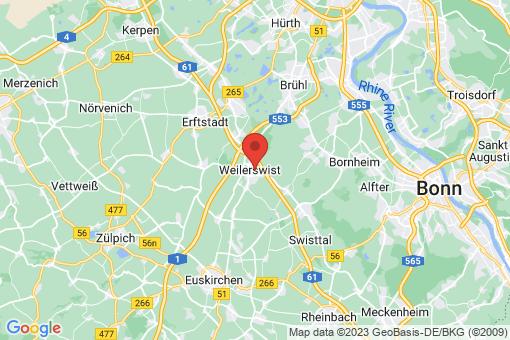 Karte Weilerswist
