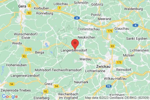 Karte Langenbernsdorf