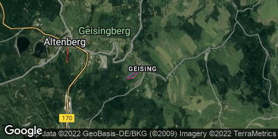 Google Map of Geising