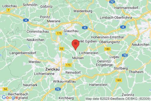 Karte Mülsen Stangendorf