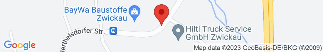BayWa Baustoffe Zwickau Anfahrt