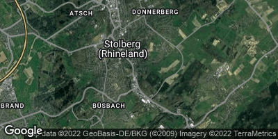 Google Map of Stolberg