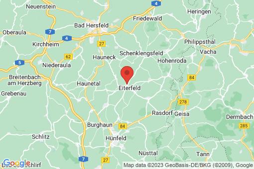 Karte Eiterfeld