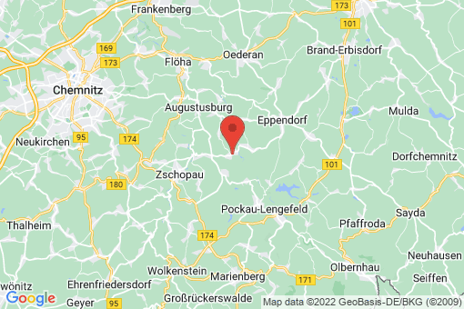 Karte Grünhainichen