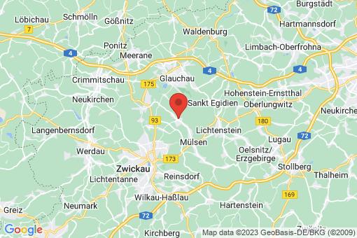 Karte Mülsen Thurm
