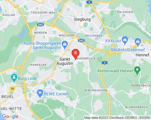 Google Karte von Rohrreinigung Sankt Augustin