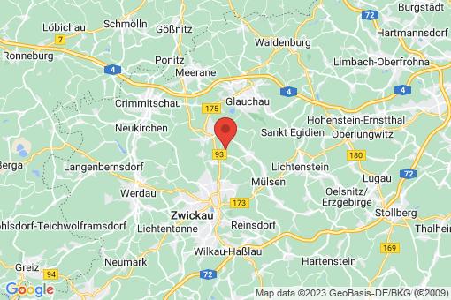 Karte Mülsen Wulm, Bertelsdorf