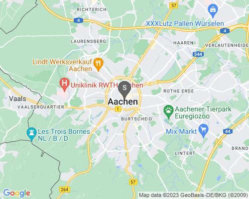 Google Karte von Schlüsseldienst Aachen