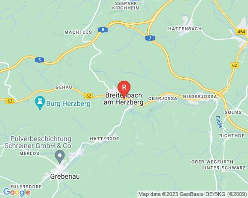 Google Karte von Rohrreinigung Breitenbach