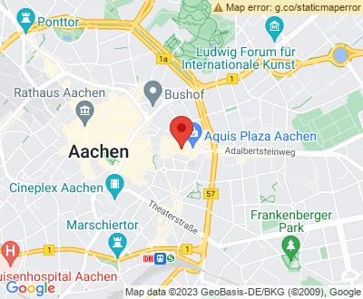 Anfahrt zu Alles Clean 24 Aachen - DE-BE