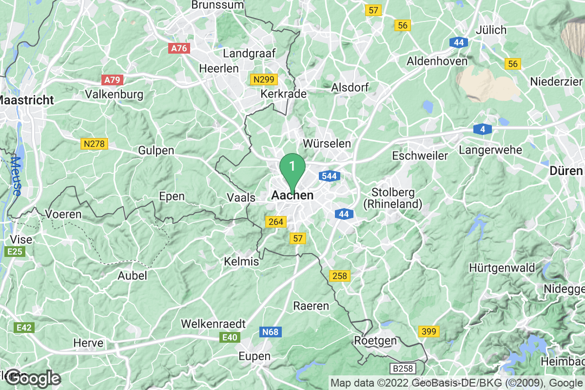 Google Map of Aachen
