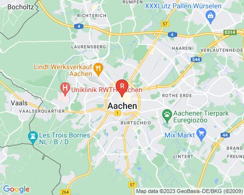 Google Karte von Rohrreinigung Aachen