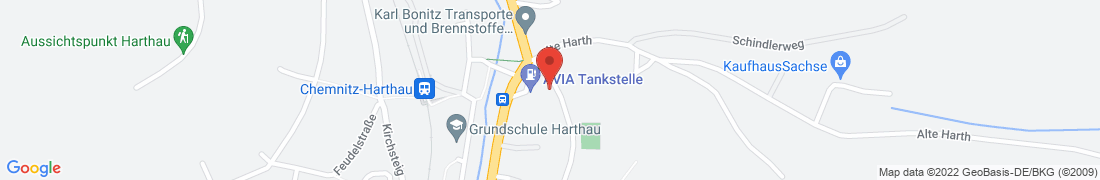 BayWa Tankstelle Chemnitz Anfahrt