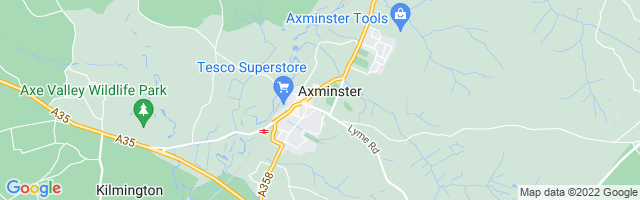 Map Of Axminster