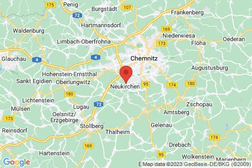 Karte Neukirchen/Erzgebirge