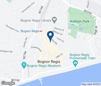Map of 47 London Road in Bognor Regis