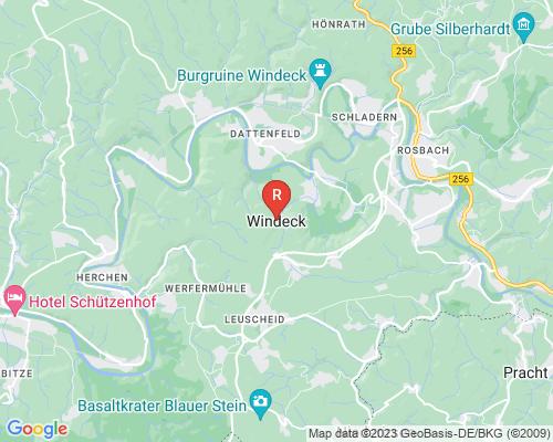 Google Karte von Rohrreinigung Windeck