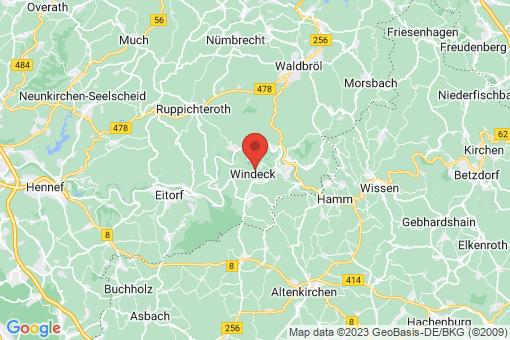 Karte Windeck