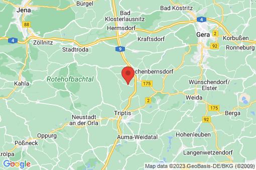 Karte Schwarzbach