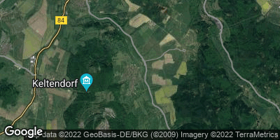 Google Map of Völkershausen bei Vacha