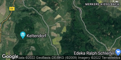 Google Map of Martinroda bei Vacha