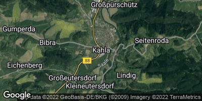 Google Map of Kahla