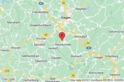 Karte Neunkirchen