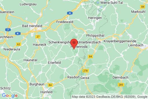 Karte Hohenroda