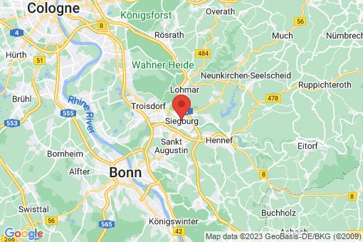 Karte Siegburg