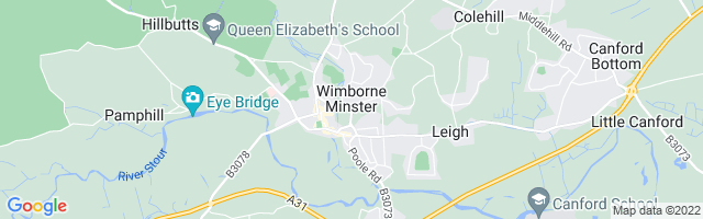 Map Of Wimborne