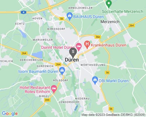 Google Karte von Schlüsseldienst Düren